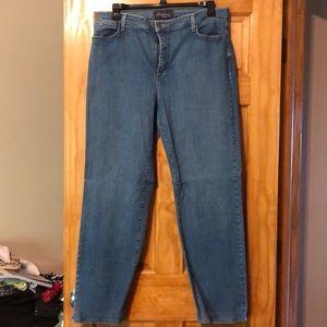 NYDJ Stone Wash Jean
